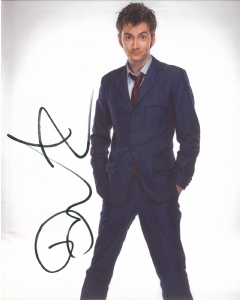 David Tennant  - 10th Doctor,  DOCTOR WHO  Genuine Signed 10 x 8  - 10696